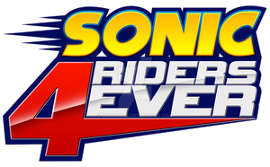 Sonic Riders 4Ever Logo by Sonicguru
