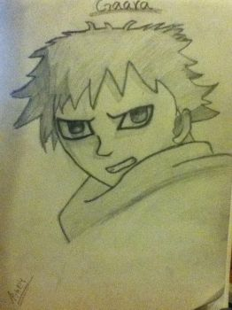 gaara by therealpinkashes