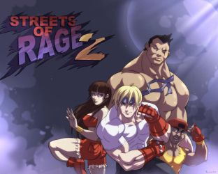 Streets Of Rage 2 by XGoldenboyX