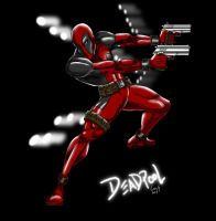 Deadpool Akimbo by sweetjimmy