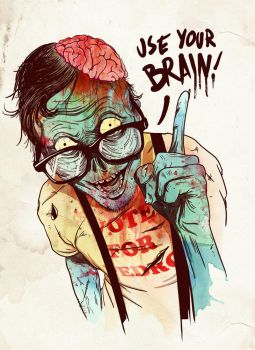 Zombie by CookehMunster