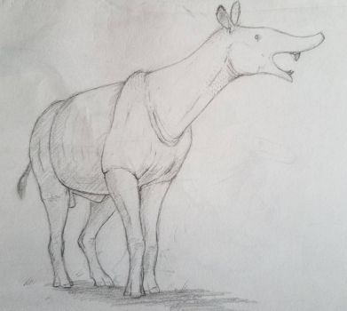 almost a rhino by SpinoSushi
