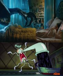 Scared Squidward Meme: JW Fallen Kingdom by Vespisaurus