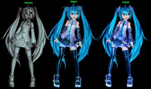 3D Hatsune Miku - Inside Look by Primantis