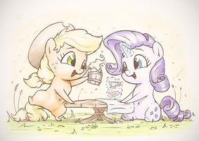 Raise your Cups by AssasinMonkey