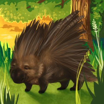 Porcupine by JubliantTroo