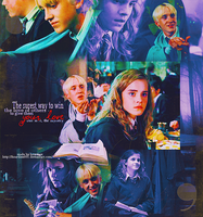 Draco and Hermione by Heartless001