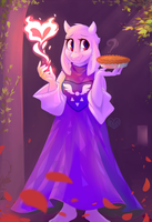 Toriel by Hollulu