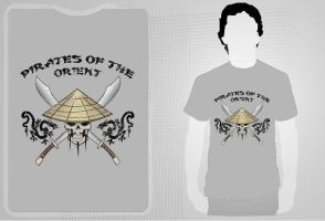 Pirates of the Orient TShirt by reshad80