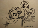 [Inktober] Day 22: Expensive by Sa1ntMax