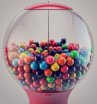 Gumball Machine by afaikars