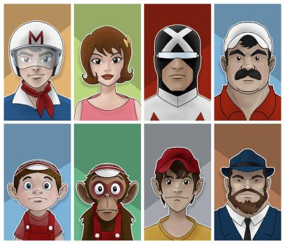 speed racer group by jimmymcwicked
