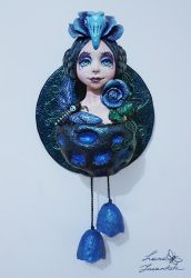 About Blue Rose and Bird by LanaIncantata