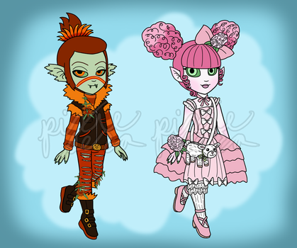 Adopt Reveal: Lion and Lamb by pixiesera