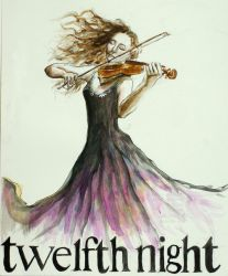 Twelfth Night Poster by howvery--blue