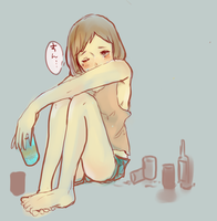 Drunk girl by Chikao-j