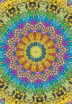 kale mandala III by cl502