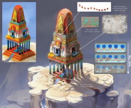 Abandoned Temple Design by TamberElla