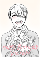 Happy Birthday Victor! by Kare-Valgon