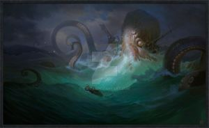 Octopus by timens