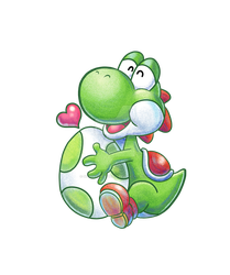 Proud Parent Yoshi by SoVeryUnofficial