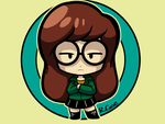 Chibi Daria by rongs1234
