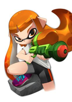 Splatoon Inkling by bleedman