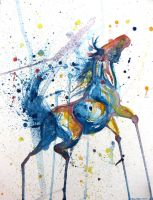 Splatter Horse by caroro