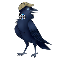 Eamonn the Forest Raven by StoryBirdArtist