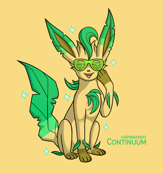 Leafeon by spinnando