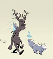Forest Spirits by Varguy