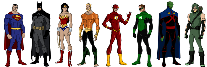 The League (YJ style) by grego23