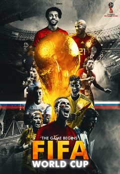 FIFA World Cup 2018 | Poster | Russia by RHGFX2