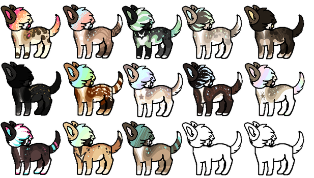 Giant Design Batch -Closed- by Errored-Adopts