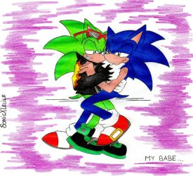 Sonourge: my babe by SonicXLelile