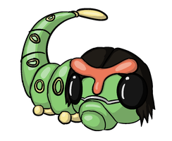 Twitch plays Pokemon: Oxxy Ozzworm by Lopaki