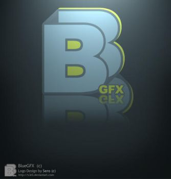 BlueGFX Logo by S3R0