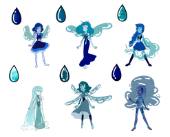 SU Lapus Lazuli Adopts (CLOSED) by SmilesUpsideDown