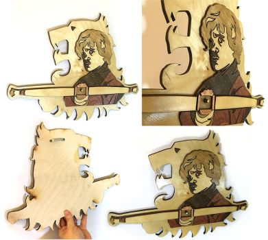 Game of Thrones Tyrion Lannister crossbow wallpiec by Athey