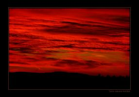Red sky the last one by grugster