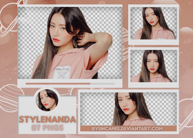 [PNG PACK #500] STYLENANDA by fairyixing