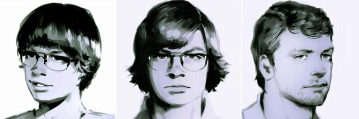 The Evolution of Jeffrey Dahmer by M-Hanzo