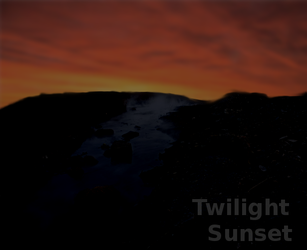 Twilight Sunset by Robbydesigns