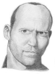 Jason Statham Portrait by MakoServitor