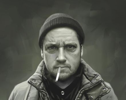 Isaac Brock Portrait by timothysmithdesign