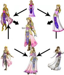 Zelda Hexafusion by anonymouswind