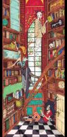 The Library by Seltivo