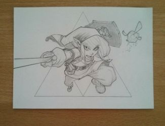 A Link before coloring (Duplication/Madureira) by MechantPP