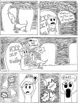 Graveyard Tales, page two by LucyQ602