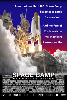 Space Camp: Olympians Rising concept movie poster by PeachLover94